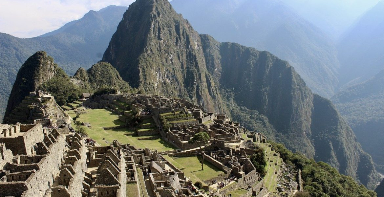 Inca Face Machu Pi Picchu Inca Peru Face Tourism